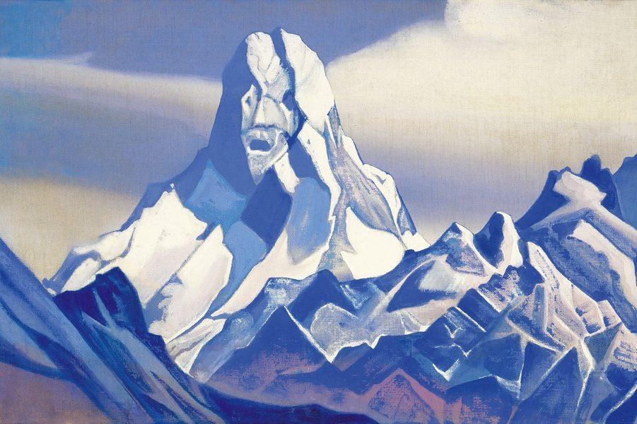 4 Рерих Н.К. Дозорный [Ледяной сфинкс]. 1938