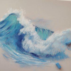 Волны пастелью
