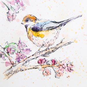 Весенние открытки с птицами
