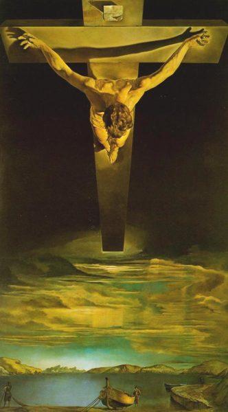Сальвадор Дали  «Христос Святого Иоанна Креста» 1952 г.